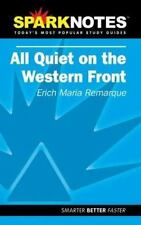 All Quiet on the Western Front by Erich-Maria Remarque (Paperback) SparkNotes