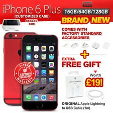New&Sealed Factory Unlocked APPLE iPhone 6 + Plus 16 64 128GB Red 1 Year Wrty