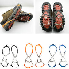 6 Teeth Ice Snow Anti Slip Spikes Grips Grippers Crampon Cleats Shoes Cover