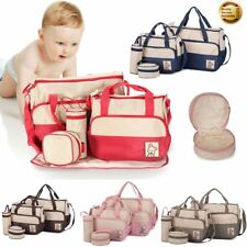 5Pcs Waterproof Diaper Nappy Changing Liners Bags Mummy Mother Baby Travel Bag