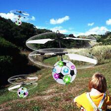 Electronic RC Flying Ball Infrared Induction Aircraft LED Light Mini Toy BS