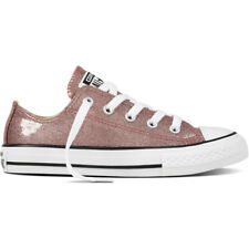 Converse Chuck Taylor All Star Glitter Ox Rose Gold Synthetic Youth