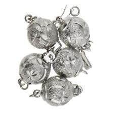 5x Tibet Silver Necklace Chain Connectors Bail Beads Jewelry Crafts 16x10mm