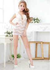 Sexy Slutty Bridal Shower Lingerie Skirt Bodystocking Bachelorette Party Outfit