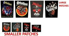 Judas Priest Patches British Steel Screaming Vengeance Defenders Faith Hell Bent