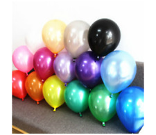 "10"" Latex Helium Pearl High Quality Party Birthday Wedding Balloons Anniversary"