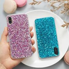 Luxury Bling Glitter Sparkle Sequin Shockproof Skin Cover Case for iPhone X 8 7