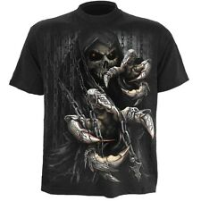 Spiral Death Claws Black T-Shirt [Special Order] - Gothic,Goth,Reaper Death  ,Sk