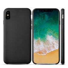 Shockproof Soft Matte Silicone Back Skin Case Cover For Apple iPhone X 8 7 Plus