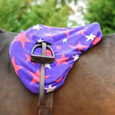 Best On Horse Fleece Outdoor Winter Washable Riding Protection Star Saddle Cover