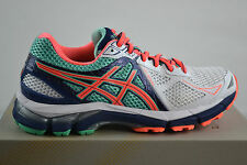Asics GT -2000 3 White/Flash Coral Running Shoes Sports Shoes Trainers