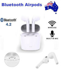 Wireless Bluetooth Headphones Headset Earphones + Charger Box for Apple Airpods