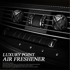 Car Interior Luxury Point Air Freshener Diffuser Perfume 3 Type 2pcs for All Car