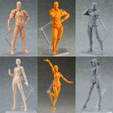 13cm Action Figure Toys Artist Movable Limbs Male Female joint body Model Doub K
