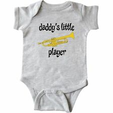 Inktastic Funny Little Trumpet Player Infant Creeper Future Daddys Instrument