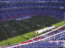 2 Pittsburgh Steelers vs Denver Broncos Tickets 11/25 Row 15 Section 539 Aisle