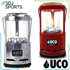 UCO 9 HOUR 3 CANDLE CANDELIER SAFETY LANTERN FOR CAMPING & OUTDOORS