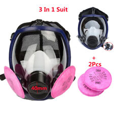 Double Use Gas mask Painting Spray For 3M 6800 Full Face Respirator Mask 40mm