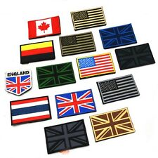 Nation Flag Emblem On Patch Embroidered Applique National Country Sew Trim