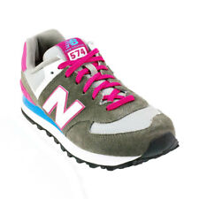 New Balance - 574 Classics Casual Shoe - Dark Grey/Pink