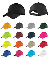 Adjustable Six-Panel Hat OSFA Unstructured Cotton Twill Cap Low Profile C914
