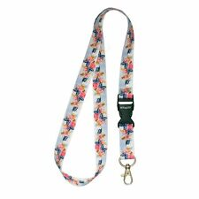 Multicolour BUTTERFLIES ROSES Lanyard Neck Strap With Card/Badge Holder /KeyRing