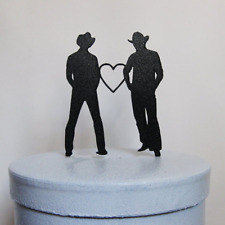 Wedding Cake Gay Same Sex Topper Mr Lesbian And Couple Men Toppers Gift Romance