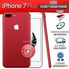 Factory Unlocked APPLE iPhone 7 + Plus Red 32GB 128GB 256GB 2 Year Warranty