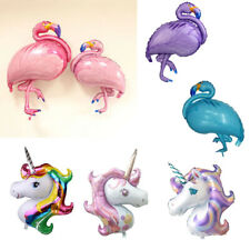 Large Unicorn Flamingo Foil Helium Balloon Children Birthday Luau Party Decor