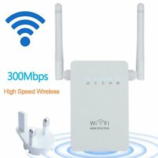 300Mbps Wireless-N Repeater Router Range Extender WiFi Network Signal Booster V5