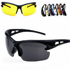 Security Explosion-proof UV 400 Sunglasses Sport Cycling Glasses Goggles BU