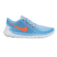 Nike Free 5.0 Running Sport Shoes Sneaker Trainers Run blue 725114 400 WOW SALE