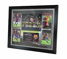 Lionel Messi Signed Barcelona Photo Poster Memorabilia Limited Edition of 250