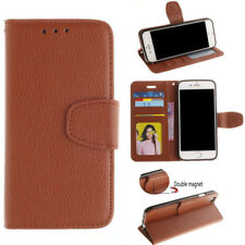 Wallet Photo Frame Leather Stand Cover 3 Card Slots Purse Flip For Apple iPhone