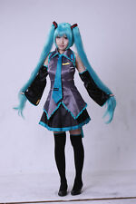 NEW Hatsune Miku Maid costume 7piece suit Wig Cosplay Halloween Comic-con Party