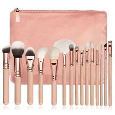 MUQGEW - Cosmetic Brush Set With Case 15 Pieces