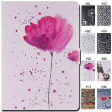 For Apple iPad Shockproof Flip PU Leather Stand Card Slot Cover Case Wallet Skin