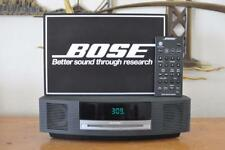 Bose Acoustic Wave Music System CD AM/FM Model AWRCC1 w/Remote in Graphite Grey