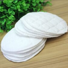 12pc Bamboo Reusable Breast Pads Nursing Waterproof Organic Plain Washable Pad S