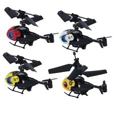 1 pc Cool New Mini Helicopter with Remote Control RC Micro Remote Control BS