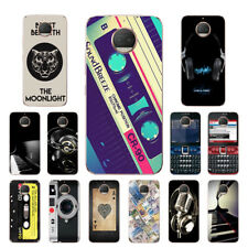 Soft TPU Silicone Case For Motorola Moto G5S Plus Phone Back Covers Skins Music