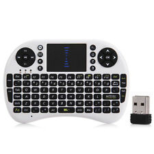 M2S 2.4GHz Wireless QWERTY Keyboard Touchpad with Receiver for HTPC PS3 Xbox