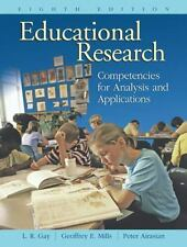 Educational Research: Competencies for Analysis and Applications (8th Edition)