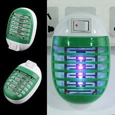LED Electric Socket Mosquito Fly Insect Bug Trap Night Lamp Killer Zapper A!