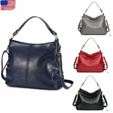 Fashion Women Messenger Shoulder Bag PU Leather Travel Handbag Satchel Purse US