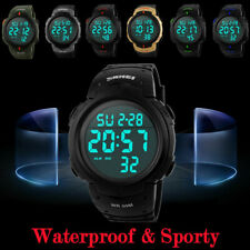 SKMEI Luxury Men's Sport LED Digital Watches Fashion Casual Date Military Watch