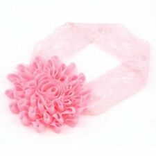 Girl Baby Toddler Lace Flower Headband Hair Band Accessories Headwear BA