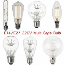 E14/E27 Multi-Type Super Bright Dimmable LED Light Globe Bulb Energy Saving BB