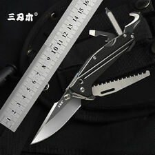 Authentic Sanrenmu 7116 Multifunctional Pocket Folding Knife Outdoor Camping