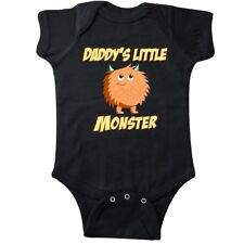 Inktastic Daddys Little Monster Infant Creeper Family Cute Dad Daddy Father Son